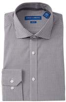 Vince Camuto Checkered Slim Fit Dress Shirt