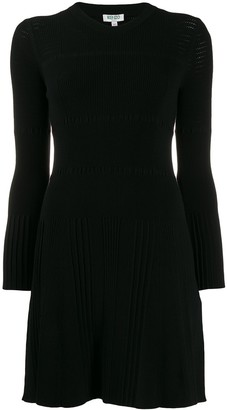 Kenzo openwork knit dress