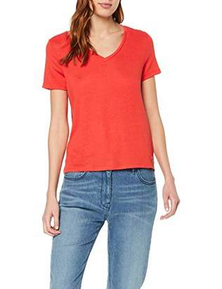 Tom Tailor NOS) Women's 1007880 T-Shirt, (Brilliant Red 15550), X-Large