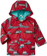 Hatley Ocean Liner Raincoat (Baby) - Red - 18-24 Months