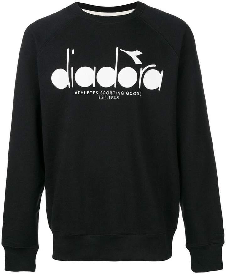 Diadora (ディアドラ) - Diadora ロゴプリント スウェットシャツ