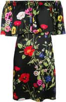 Blugirl off the shoulder printed dress