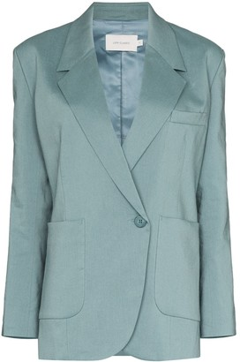 Low Classic Single-Breasted Blazer