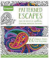 Crayola Aged Up Coloring Book - Patterned Escapes