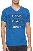 Calvin Klein Jeans V-Neck Logo Tee