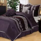 Bed Bath & Beyond Riley California King Comforter Set in Purple