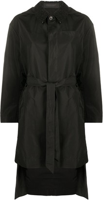 Undercover Belted Hooded Coat