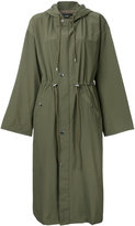 G.V.G.V. maxi parka coat - women - Cotton/Nylon - 34