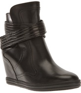 Hogan wedge boot