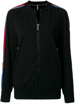 NO KA 'OI Side-Stripe Zipped Jacket