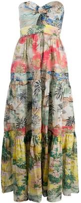 Zimmermann Juliette tropical-print dress