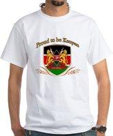 CafePress - Proud To Be Kenyan - 100% Cotton T-Shirt