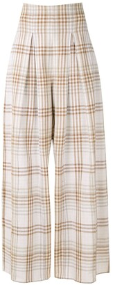ALUF Savannah wide-leg trousers