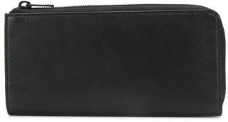 Diesel zippered logo purse