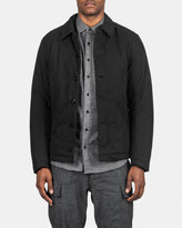 Wings + Horns Insulated Deck Jacket (Black)