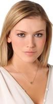 "Jennifer Zeuner Jewelry Mini 1/2"" Heart Necklace with Diamond"