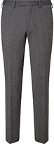 John Lewis Donegal Regular Fit Suit Trousers, Light Grey