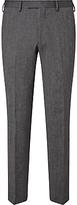 John Lewis Donegal Regular Fit Suit Trousers, Light Grey