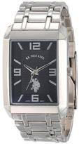 U.S. Polo Assn. Men's Silvertone Metal Strap Watch