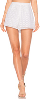 Line & Dot Gaby Shorts in White. - size S (also in XS)
