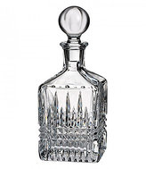 Waterford Lismore Diamond Crystal Square Decanter