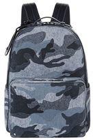 Valentino Camouflage Felt Backpack