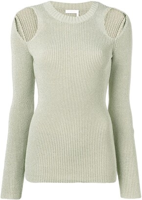 See by Chloe Cold Shoulder Jumper