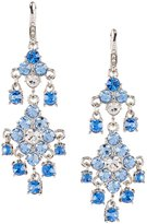 Carolee Something Blue Chandelier Statement Earrings