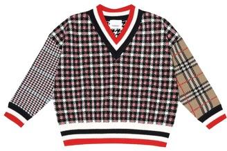 BURBERRY KIDS Merino wool sweater