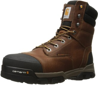 Carhartt Men's Ground Force 6-Inch Brown Waterproof Work Boot - Composite Toe-New For 2017 - CME8355