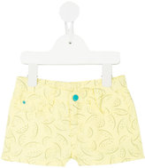 Knot - Dragonfruit denim shorts - kids - Cotton - 3 yrs