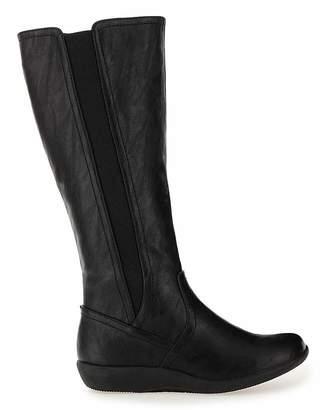 Cushion Walk Boots E Fit Curvy Calf