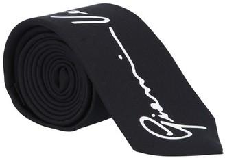 Versace GV print silk tie