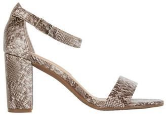 Sandler Juliet Snake Print Sandals