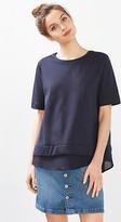 Esprit Fabric hem T-shirt