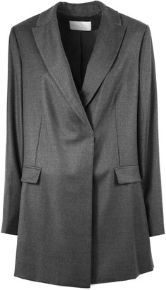 Fabiana Filippi Grey Flannel Fabric Jacket