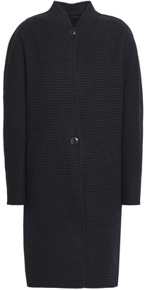 Rag & Bone Darwen Reversible Houndstooth Wool And Cashmere-blend Coat