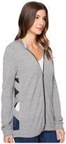 Lanston Cut Out Tunic Hoodie Women's Sweatshirt