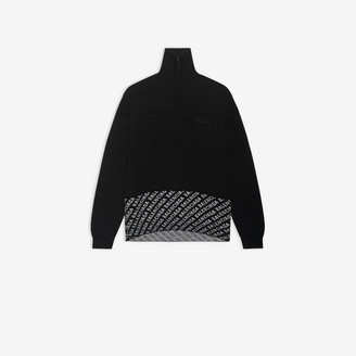 Balenciaga Zip-up Sweater