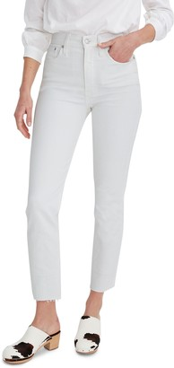 Madewell The Perfect Vintage Raw Hem Jeans