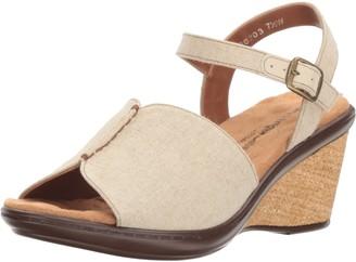Walking Cradles Women's Lucca Wedge Sandal