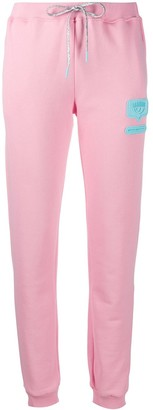 Chiara Ferragni Logo Embossed Track Trousers