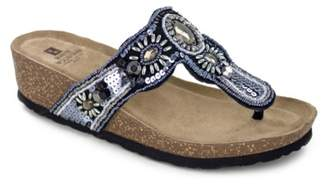 White Mountain Bountiful Wedge Sandal