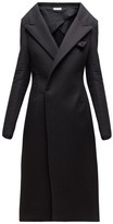 Bottega Veneta Double-breasted Cashmere Coat - Womens - Black