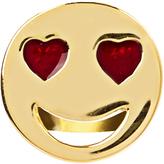 Alison Lou Enamel & yellow-gold Love struck earring
