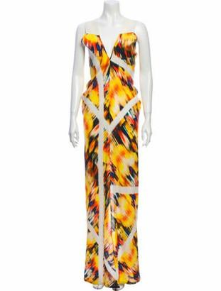 Zero Maria Cornejo Linen Long Dress Yellow