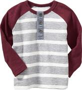 Raglan-Sleeved Tees for Baby