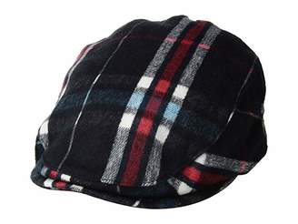 Bailey Of Hollywood Tembin (Forest Plaid) Caps