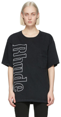 Rhude Black Logo Pocket T-Shirt