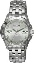 Titan Youth Analog White Dial Men's Watch - 1587SM01